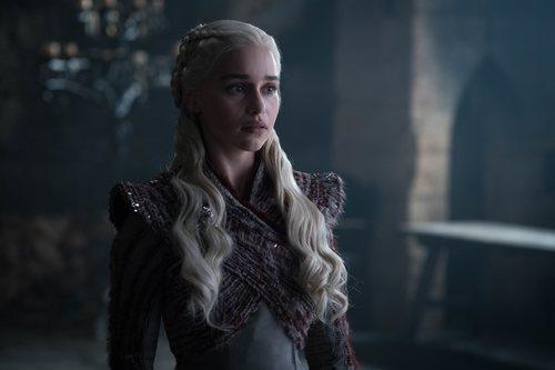 Daenerys Targaryen, preocupada, en la octava temporada de 'Juego de Tronos'