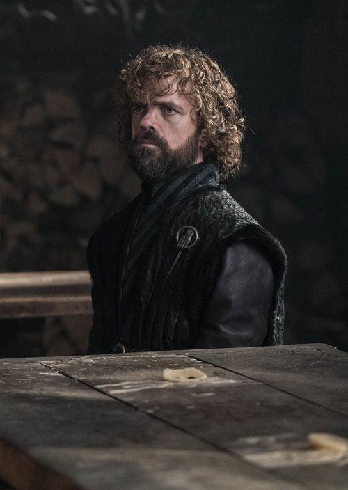 Tyrion Lannister, con gesto serio, en la octava temporada de 'Juego de Tronos'