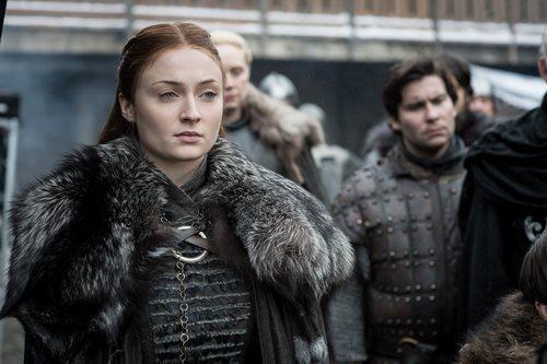 Sansa Stark, muy firme, en la octava temporada de 'Juego de Tronos'