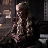 Daenerys, sonriente, en la octava y última temporada de 'Juego de Tronos'