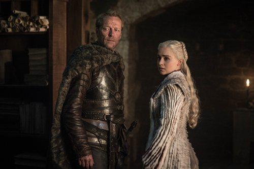 Daenerys y Ser Jorah Mormont, en la octava temporada de 'Juego de Tronos'