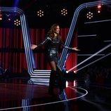 Eva González en el segundo directo de 'La Voz'