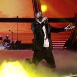 """Angel Cortés interpreta """"O sole mio"""" en el segundo directo de 'La Voz'"""