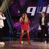 """El equipo de Paulina Rubio canta """"Ni una sola palabra"""" en el segundo directo de 'La Voz'"""