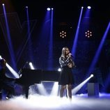 """María Espinosa interpreta """"Me cuesta tanto olvidarte"""" en el segundo directo de 'La Voz'"""