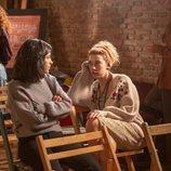 Inés y Laia en un curso de interpretación en el 20x03 de 'Cuéntame cómo pasó'