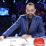 Risto Mejide, en la Semifinal 1 de 'Got Talent'
