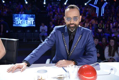 Risto Mejide, en la Semifinal 1 de 'Got Talent'