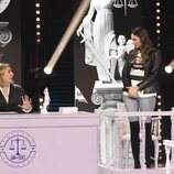 Irene Rosales declara en el juicio de 'GH Dúo'