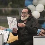 Juan Miguel recibe un dibujo de sus nietos en 'GH Dúo'