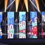 Juan Miguel, María Jesús, Alejandro Albalá y Kiko Rivera en el debate de la Gala 14 de 'GH Dúo'