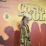 Adriana Abenia en la presentación de 'Brigada Costa del Sol'