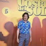 Antonio Estrada en la presentación de 'Brigada Costa del Sol'