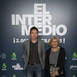 Manuela Carmena y Iñigo Errejón, en el programa 2.000 de 'El Intermedio'