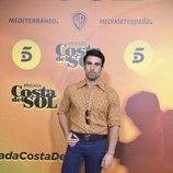 Christian Sánchez en la presentación de 'Brigada del Sol'