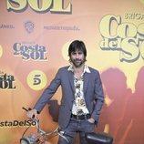 Hugo Silva en la presentación de 'Brigada Costa del Sol'