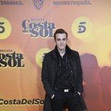 Joaquín Galletero en la presentación de 'Brigada Costa del Sol'