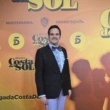 Jorge Usón en la presentación de 'Brigada Costa del Sol'