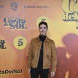 Pablo Béjar en la presentación de 'Brigada Costa del Sol'