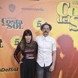 Fele Martínez y su pareja en la presentación de 'Brigada Costa del Sol'