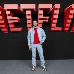 Eduardo Casanova, en la inauguración del centro de producción de Netflix en Madrid