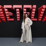 Dafne Fernández, en la inauguración del centro de producción de Netflix en Madrid