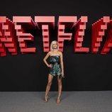 Ana Fernández, en la inauguración del centro de producción de Netflix en Madrid