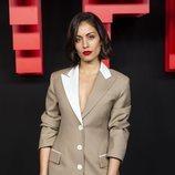 Hiba Abouk, en la inauguración del centro de producción de Netflix en Madrid
