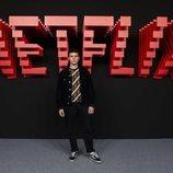 Arón Piper, en la inauguración del centro de producción de Netflix en Madrid