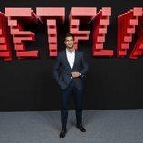 Maxi Iglesias, en la inauguración del centro de producción de Netflix en Madrid