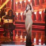 Melody, en la Gala final de 'La mejor canción jamás cantada'