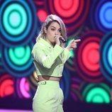 Nerea Rodríguez, en la Gala final de 'La mejor canción jamás cantada'