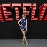 Ana Polvorosa, en la inauguración del centro de producción de Netflix en Madrid