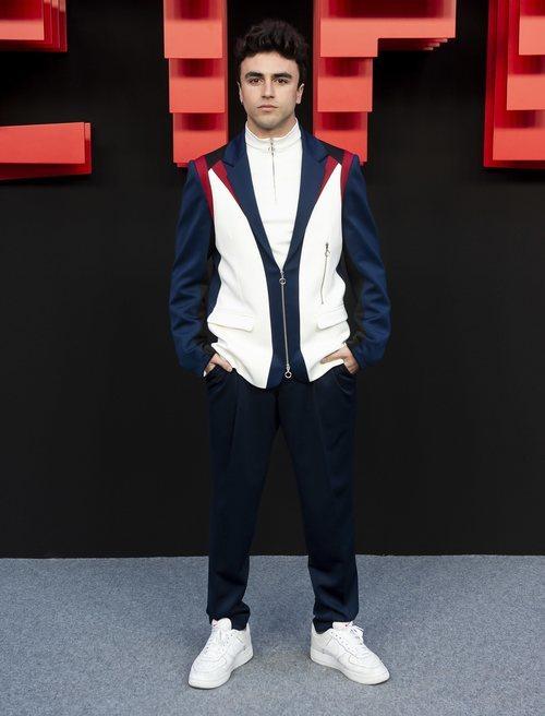 Itzan Escamilla, en la inauguración del centro de producción de Netflix en Madrid