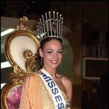 Eva González, ganadora de Miss España 2003