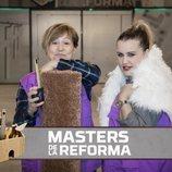 Raquel y Maria Ángeles, concursantes de 'Masters de la Reforma'