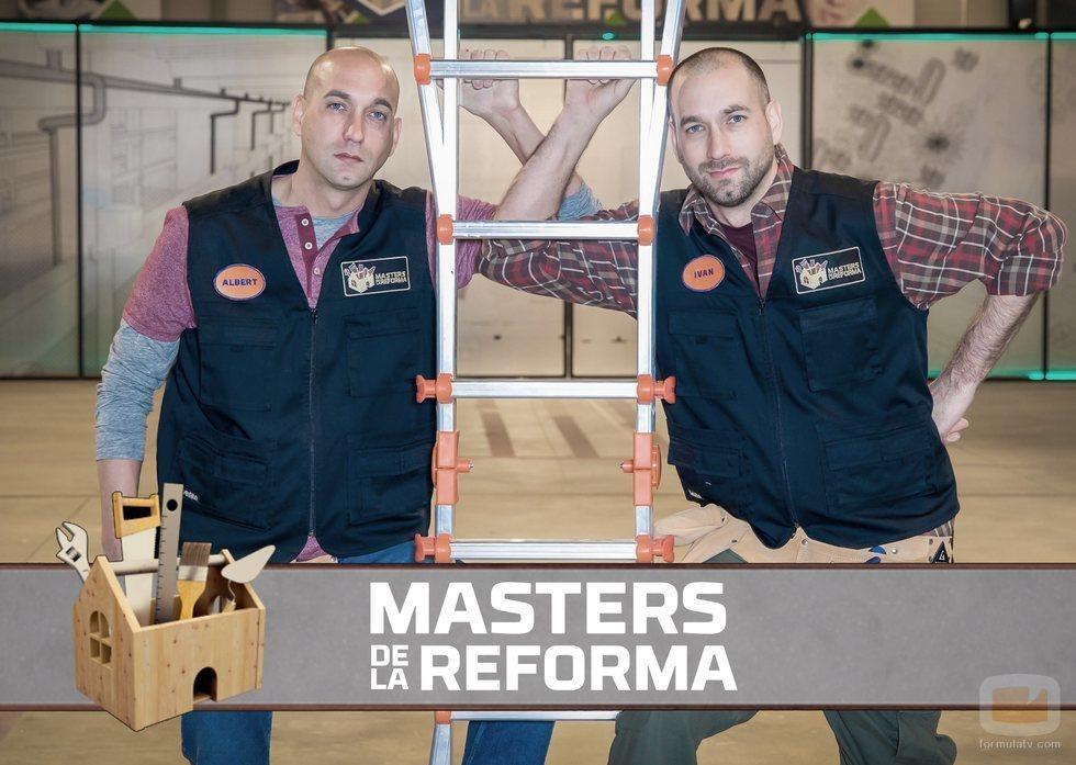 Albert e Iván, concursantes de 'Masters de la Reforma' en Antena 3
