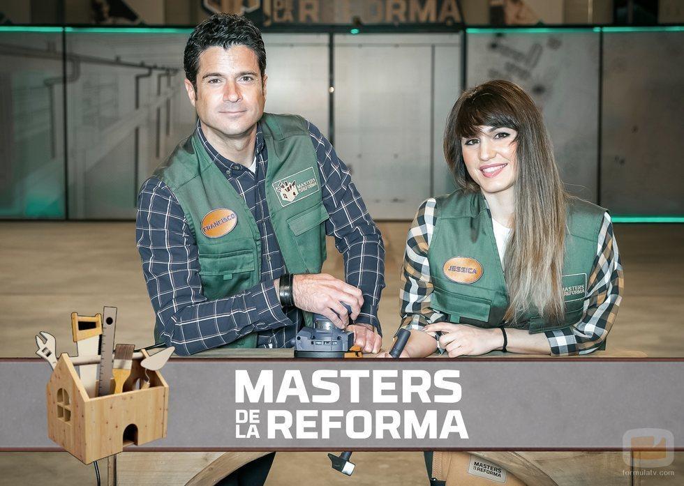 Paco y Jessica, concursantes de 'Masters de la Reforma' en Antena 3