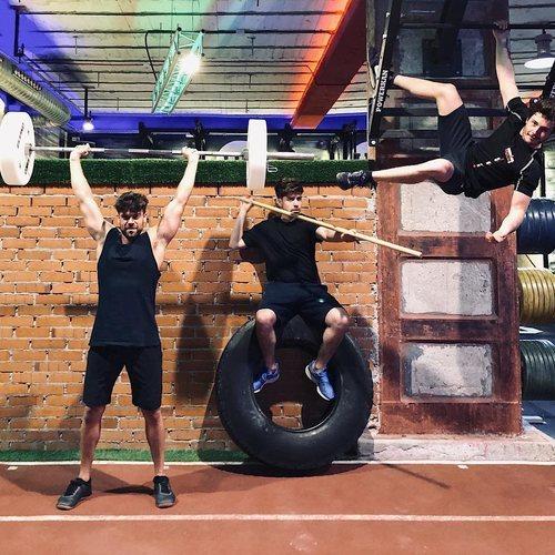 Ricky Merino y Roi Méndez acompañan a Miki en sus entrenamientos para Eurovision 2019
