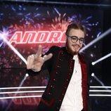 'La Voz' proclama a Andrés Martín ganador de su primera edición en Antena 3