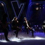 """Andrés Martín y Sebastián Yatrá interpretan """"Un año"""" en la final de 'La Voz'"""