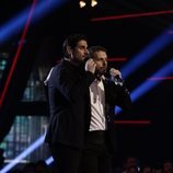 Ángel Cortés y Melendi cantan