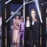 María Jesús Ruiz, Juan Miguel, Alejandro Albalá y Kiko Rivera en la final de 'GH Dúo'