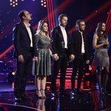 Los cuatro finalistas se preparan en la gran final de 'La Voz'