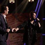 """Javier Moya y Manuel Carrasco interpretan """"Déjame ser"""" en la final de 'La Voz'"""
