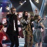 Juanes visitó la final de 'La Voz' para cantar junto los finalistas