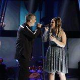 Alejandro Sanz visitó la final de 'La Voz' para cantar junto a María Espinosa