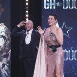 Kiko Rivera y María Jesús Ruiz en la primera parte de la final de 'GH Dúo'
