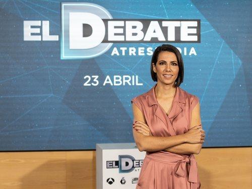 Ana Pastor, encargada de moderar 'El debate' de Atresmedia