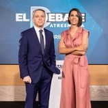 Ana Pastor y Vicente Vallés, moderadores de 'El debate' de Atresmedia